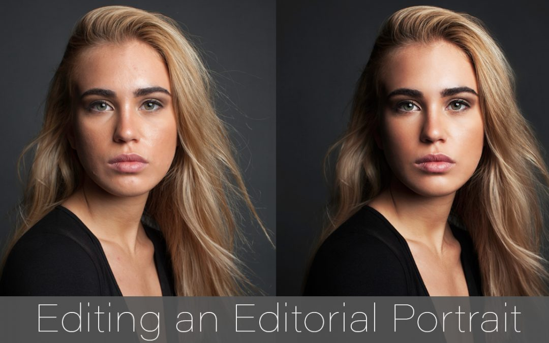 EDITING AN EDITORIAL PORTRAIT