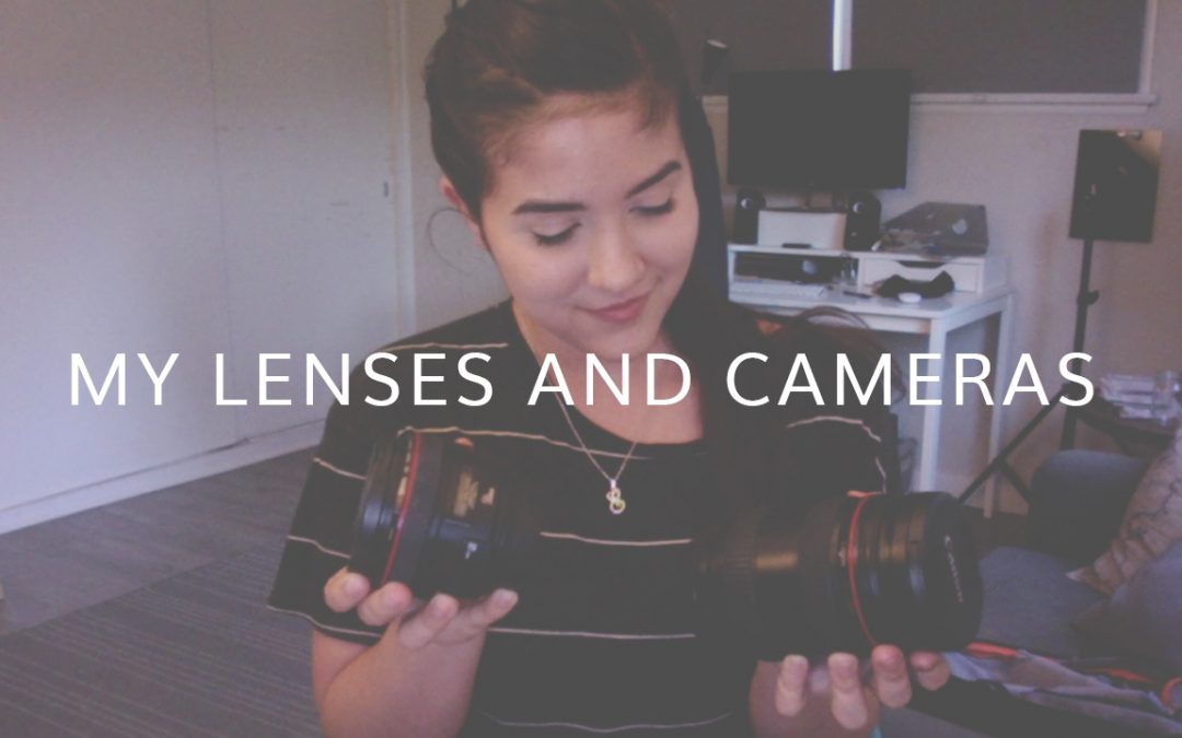 LENSES AND CAMERAS I USE (Español/English)